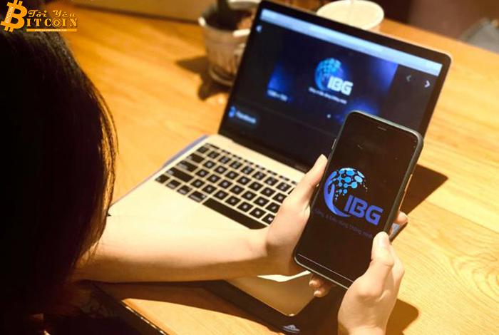 Đăng ký app IBG, người dùng phải nhập 'mã giới thiệu' để chia hoa hồng