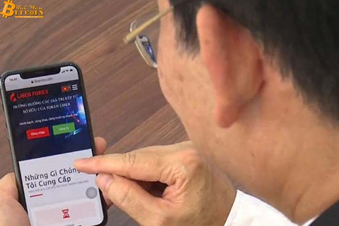 Chân dung lãnh đạo Liber Forex Việt Nam: Vừa kinh doanh tiền ảo, vừa bán máy sản xuất chai nhựa