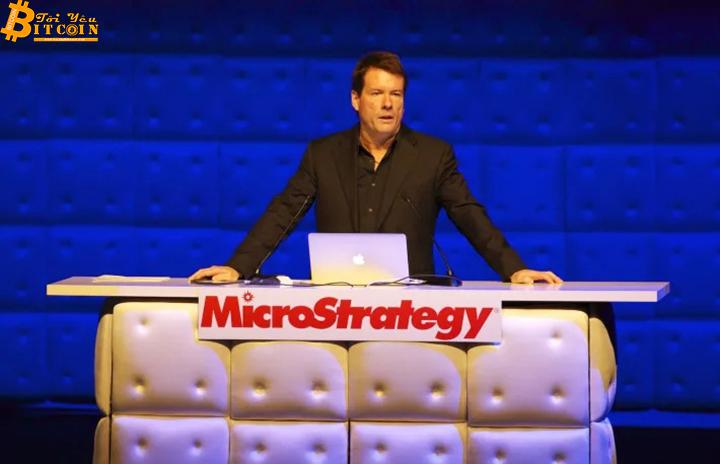 MicroStrategy rót thêm 650 triệu USD vào Bitcoin, nâng tổng số holding lên hơn 1 tỷ USD