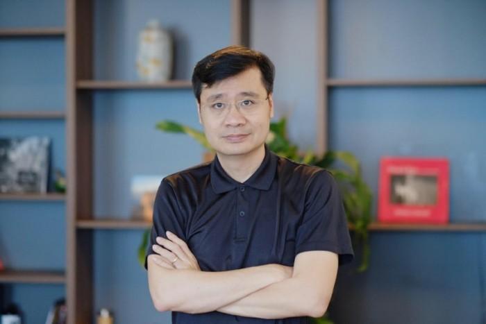 Ông Vương Quang Long, CEO Tomochain