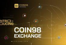 Coin98 Exchange chính thức ra mắt, token C98 tăng gần 50%