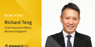 Binance thuê Cựu Giám đốc thị trường toàn cầu Abu Dhabi làm CEO Binance Singapore