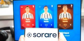 Nền tảng NFT bóng đá châu Âu Sorare huy động được 680 triệu USD